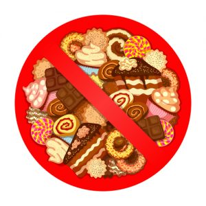 No sweets on low glycemic diet